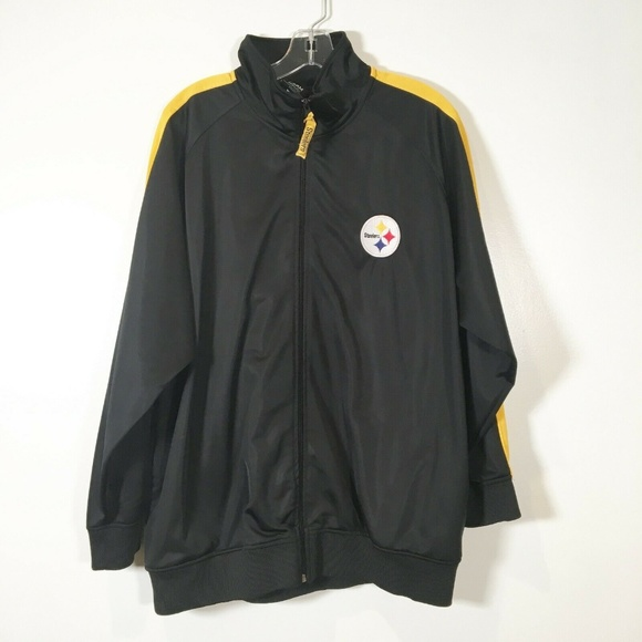 huge selection of 154c9 53d0f Pittsburgh Steelers Zip Up Jacket Soft Shell Coat